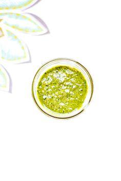 Basil Walnut Pesto | heathersfrenchpress.com #pesto