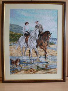RIOLIS COUNTED CROSS STITCH - Romance on the beach (30.5 x 24 inch), (77 x 61cm)