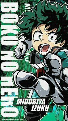 My Hero Academia Wallpapers Mobile : Izuku Midoriya by My Hero Academia Memes, Hero Academia Characters, Buko No Hero Academia, My Hero Academia Manga, Anime Character Names, Anime Characters, Animes Wallpapers, Cute Wallpapers, Otaku Anime