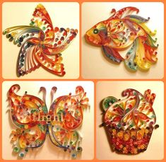 Paper Quilling Mastery | DIY Cozy Home. The link doesn't go to the ones pictured but when you get good enough you can do those pictured.