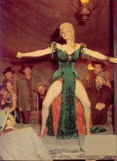 "Marilyn Monroe, ""River of No return"", 1954."