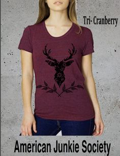 A personal favorite from my Etsy shop https://www.etsy.com/listing/482171453/giftsdeer-shirt-womens-popular-deer