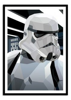 Art-Poster Wall Editions : Star Wars - Storm Trooper Tribute, by Liam Brazier…