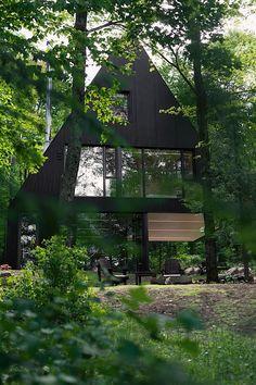 Jean Verville baut in Quebec ein Haus wie aus einem Märchen - fahouse jean verville 15