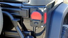 Jeep Wrangler JK LED Military Tail Light Conversion