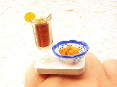 Kawaii Food Ring Soda Corn Chips Miniature by SouZouCreations, $12.50