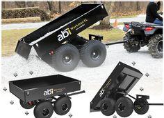 ATV Trailers - Polaris ATV Forum Quad Trailer, Off Road Trailer, Trailer Plans, Trailer Build, Atv Dump Trailer, Utility Trailer, Polaris Atv, Polaris Ranger, Utv Trailers