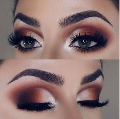 Logra éste maquillaje con la paleta 35OM #Morphe #Eyes #Eyeshadow #makeup
