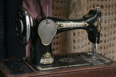 Sewing Machine - Singer.  What a gorgeous machine!