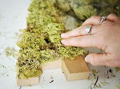 How to Make a Moss Monogram<<this would be great to update your house number! Decor Crafts, Fun Crafts, Diy Home Decor, Diy And Crafts, Arts And Crafts, Moss Letters, Monogram Letters, Moss Covered Letters, Nature Letters