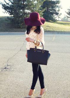 Michael Kors Handbags and that Hat
