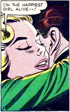 Vintage Romance Comic - WOW.....so intriguing when I was young!