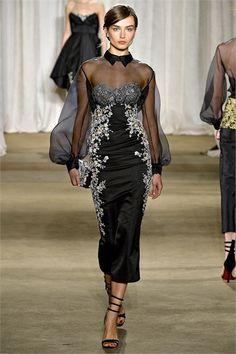 Sfilata Marchesa New York - Collezioni Autunno Inverno 2013-14 - Vogue