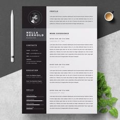 resume template resumes stationery resume pinterest resume