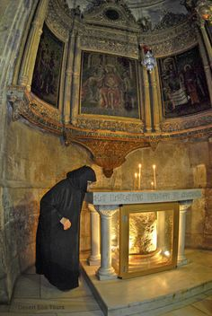 the Church of the Holy Sepulcher: The old city, Jerusalem
