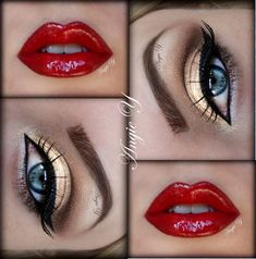 Gold+&+Red+https://www.makeupbee.com/look.php?look_id=91579
