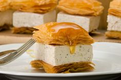 Πανακότα με άρωμα μπακλαβά - Γρήγορες Συνταγές | γαστρονόμος online