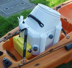 DIY Kayak Livewell & Dry Box - UK Sea Fishing
