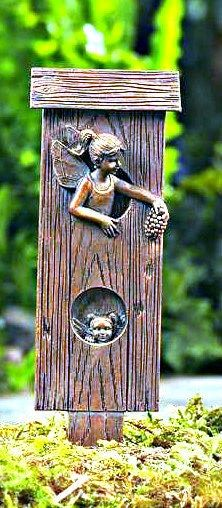 Fairy House Garden Stake