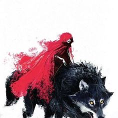 red riding hood and her wolf