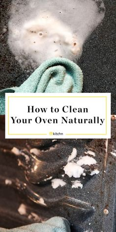 How To Clean an Oven with Baking Soda & Vinegar   Kitchn Baking Soda Drain Cleaner, Baking Soda Vinegar, Baking Soda Shampoo, Baking Soda Uses, Cleaning With Baking Soda, Cleaning Vinegar, Baking Soda Carpet, Vinegar Cleaner, Deep Cleaning Tips