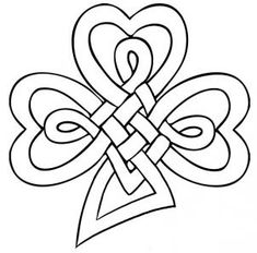 how to draw a celtic clover knot step 6