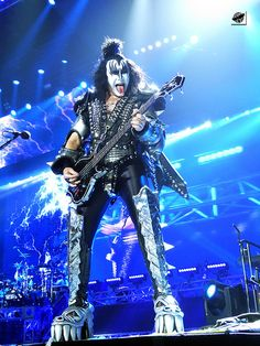 KISS - Gene Simmons | by The Crow2