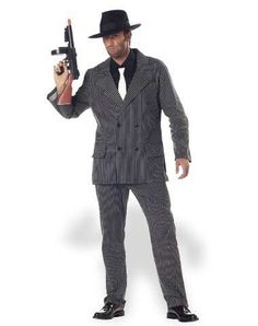 Halloween costume-we should all go as gangsters!!!