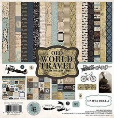 Carta Bella Paper Company CBOWT53016 Old World Travel Collection Kit -- Want additional info? Click on the image.