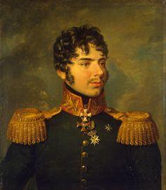 Portrait of Alexander I. Kutaisov (1784-1812)  - George Dawe