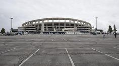 Qualcomm Stadium sits empty on Jan. 12, the day Chargers announced they were leaving for L.A.