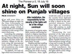 ਰਾਤ ਨੂੰ ਵੀ ਜਗਮਗਾਉਣਗੇ ਪਿੰਡ, ਲੱਗਣਗੀਆਂ LED ਲਾਈਟਾਂ। #WeSupportSAD #ShiromaniAkaliDal