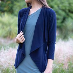 Take your look to the next level with this lapel sleeve jacket. The trench jacket is perfect for you in fall and this trench jacket features lapel collar. Trench Jacket, Collars, Duster Coat, Essentials, Sleeves, Jackets, Fashion, Down Jackets, Moda