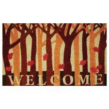 Fall Woods Doormat