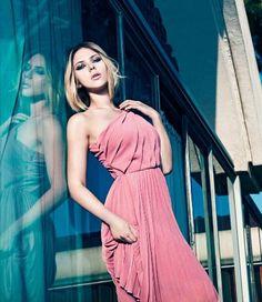 Scarlett Johansson models for Mango