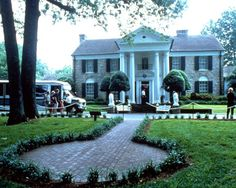 You can't go to Memphis without a visit to Elvis' home.  pictures of graceland - Bing Images
