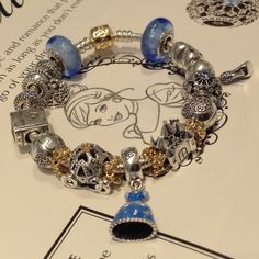 Pandora brand new Cinderella Disney Collection! This is perfect for the princess in your life
