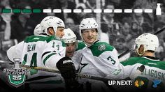Dallas Stars - Off to Round 2 #StanleyCup
