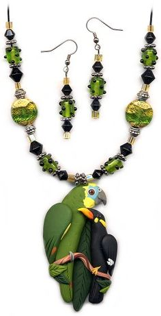 Page 4 MORE CUSTOM PARROT JEWELRY EXAMPLES @ ParrotJewelry.com