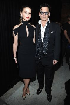 Amber Heard and Johnny Depp - It would be easy to say that anything goes with Johnny Depp; his style is inimitable and distinctive. He may have met his sartorial match though, in budding actress Amber Heard, who's proving to be a formidable partner. With the two engaged to get married, we anticipate the wedding will be a fashionable affair.