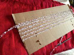 Simple Ladder Yarn Necklace