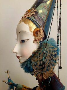 ●Красивые идеи● Handmade Bjd, Collage Techniques, Art Costume, Plastic Art, Victorian Dolls, Polymer Clay Dolls, Human Art, Russian Art, Cute Dolls