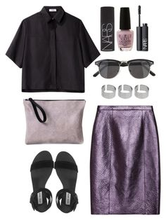 """Untitled #323"" by style-dreams ❤ liked on Polyvore featuring Asya Malbershtein, OPI, NARS Cosmetics, Burberry, Steve Madden, Nomia, Urban Outfitters and ASOS"