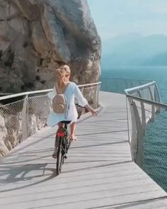 beautiful bike paths in the Italian Garda Lake 😍 Who would you take a ride with? 🍃 📹 @backpackdiariez Visit our website for more amazing travel destination Beautiful Places In The World, Beautiful Places To Visit, Cool Places To Visit, Places To Go, Wonderful Places, Travel Pictures Poses, Nature Photography, Travel Photography, Beautiful Nature Scenes