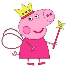 Embroidery Design of Peppa Pig Available in the formats: . Papa Pig, Birthday Clipart, Pig Birthday, Peppa Pig Pictures, Peppa Pig Funny, Peppa Pig Imagenes, Cumple Peppa Pig, Peppa Pig Family, Pig Images
