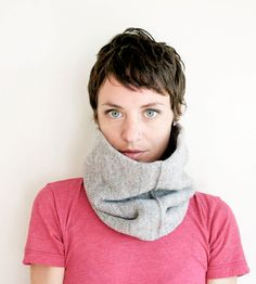 Wool Cowl Scarf | Women's Bags & Accessories | Sourpuss Knits (Austin, TX) | Scoutmob Shoppe | Product Detail