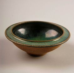 Untitled bowl, 1960-71; purchased in Hacker Valley, West Virginia; stoneware; Gift of American Ceramic Society Collection 2004.2.0111