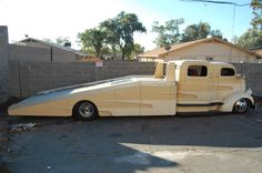 COE, Cummins powered car hauler, you got to check this out