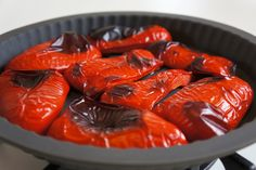 Tapas, Other Recipes, Pesto, Vinegar, Shrimp, Bbq, Food And Drink, Lunch, Stuffed Peppers