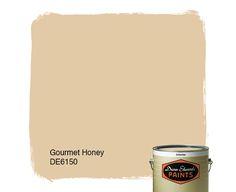 Dunn-Edwards Paints tan paint color: Gourmet Honey DE6150 | Click for a free color sample
